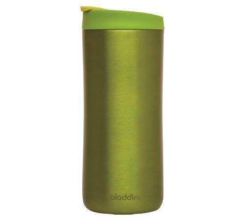Aladdin Mug isotherme double paroi vide d'air inox vert - 35 cl - ALADDIN - 35.0000 cl