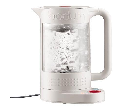 Bodum Bouilloire Bodum Bistro réglable blanche double paroi 1,1L + Offre cadeau - Sans BPA