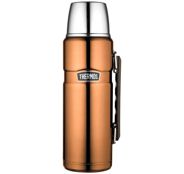 Thermos Bouteille isotherme Inox Thermos King 1,2L cuivre - Thermos - 120.0000 cl