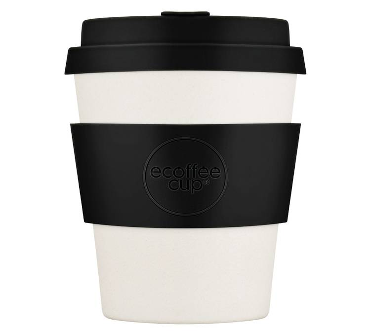 Ecoffee Cup Mug Ecoffee Cup Black Nature 25cl - 25.0000 cl