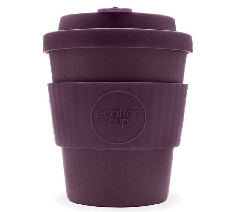 Ecoffee Cup Mug Ecoffee Cup Sapere Aude 25 cl - Violet - 25.0000 cl