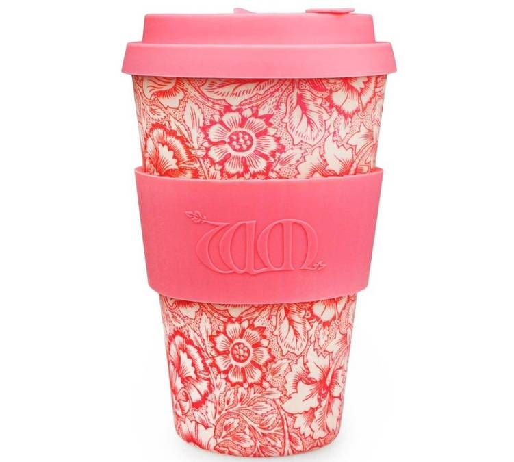 Ecoffee Cup Mug Ecoffee Cup Poppy 40 cl - édition William Morris - 40.0000 cl