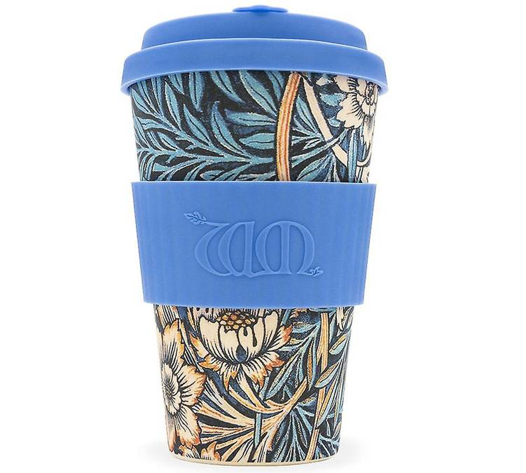 Ecoffee Cup Mug Ecoffee Cup William Morris: Lily - 40 cl - 40.0000 cl