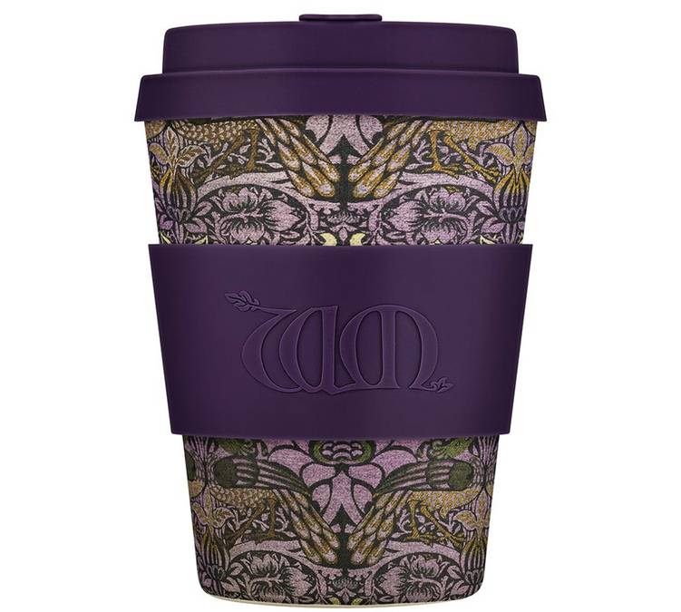 Ecoffee Cup Mug Ecoffee Cup William Morris: Peacock - 35 cl - 35.0000 cl