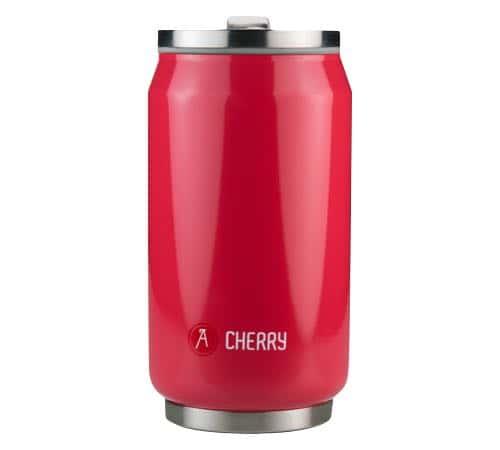 Les Artistes Paris Mug isotherme Can'it Rouge Cherry 28 cl - Les Artistes Paris - 25.0000 cl