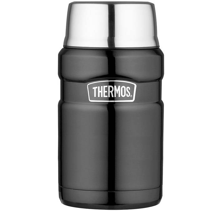 Thermos Lunch box isotherme inox Thermos King gris 71 cl - Thermos - 71.0000 cl