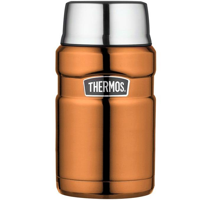 Thermos Lunch box isotherme inox Thermos King cuivre 71 cl - Thermos - 71.0000 cl