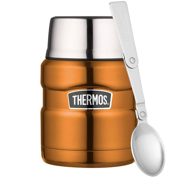 Thermos Lunch box isotherme inox Thermos King Cuivre 47 cl - Thermos - 47.0000 cl