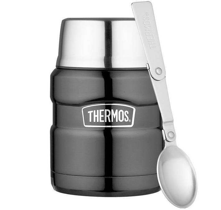 Thermos Lunch box isotherme inox Thermos King Gris 47 cl - Thermos - 47.0000 cl