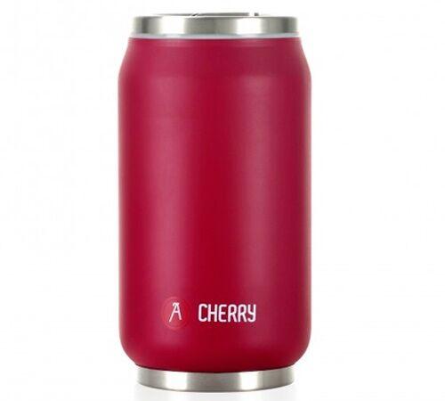 Les Artistes Paris Mug isotherme Can'it Rouge Cherry Soft Touch 28 cl - Les Artistes Paris - 25.0000 cl