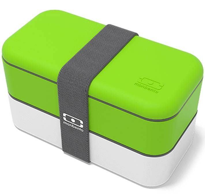 MonBento Lunch box MB Original Vert/Blanc 1L Made in France - Monbento - 100.0000 cl
