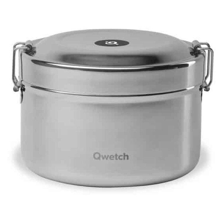 Qwetch Boite repas isotherme - Inox Brossé - Qwetch - 85.0000 cl