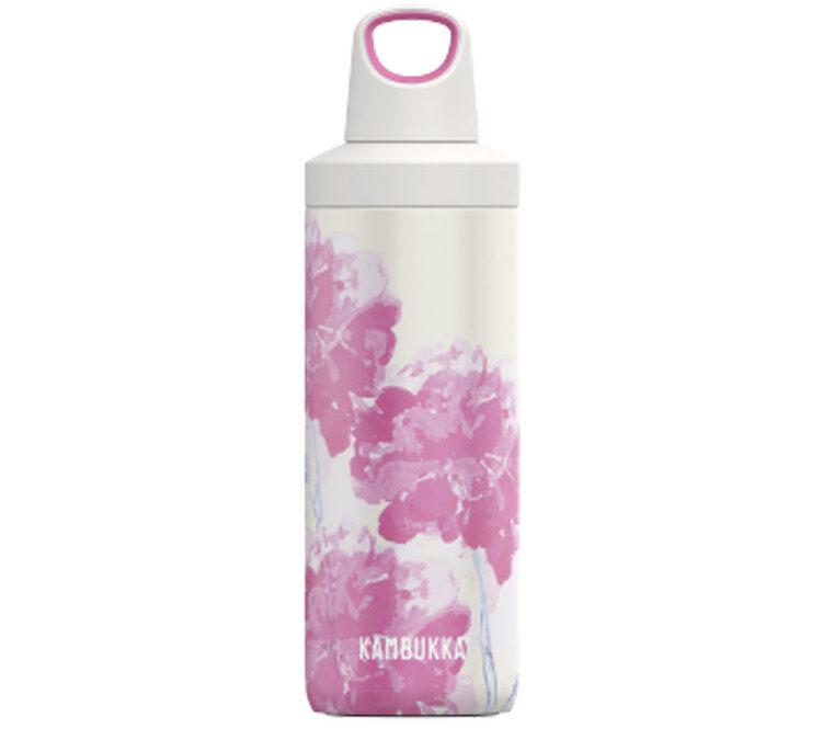 Kambukka Bouteille isotherme double paroi Inox avec twist lid RENO - Pink Blossom - 50cl - KAMBUKKA - 50.0000 cl