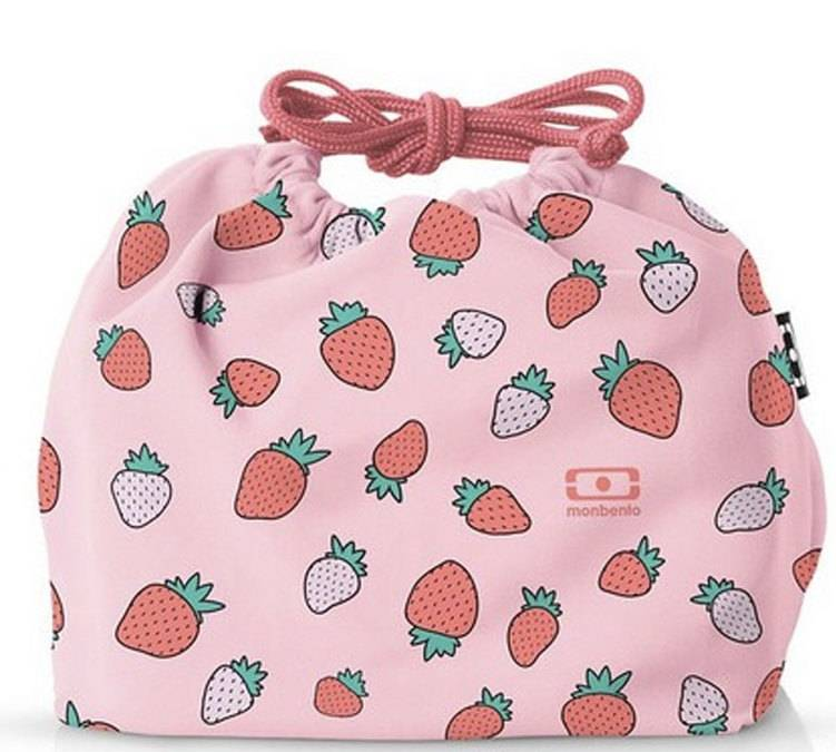 MonBento - MB Pochette Graphic Strawberry - Monbento - Sans BPA