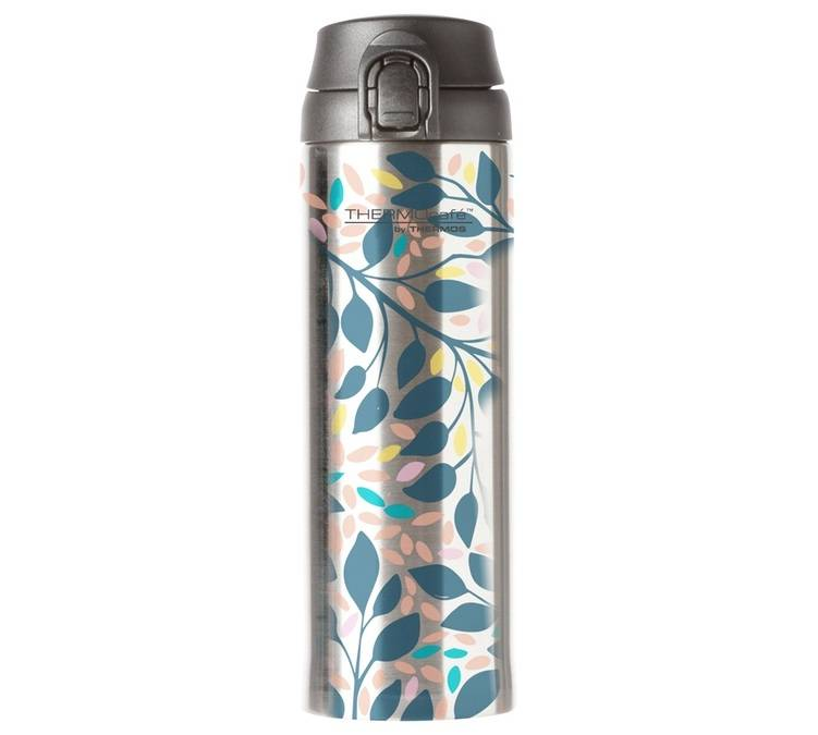 THERMOcafé by Thermos Bouteille isotherme inox Direct Drink Brocéliande 48 cl - Thermocafé By Thermos - 48.0000 cl