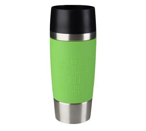 Emsa Travel Mug isotherme inox/silicone vert 36 cl - EMSA - 36.0000 cl