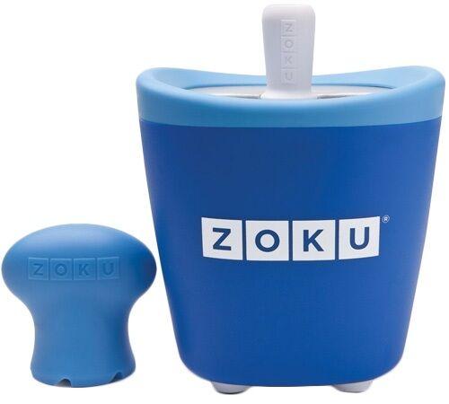 zoku - Sorbetière Pop Maker à esquimaux instantanée bleu - Zoku - Sans BPA