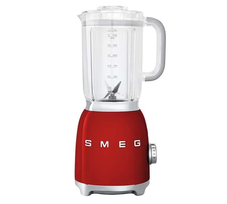 SMEG Blender Smeg BLF01RDEU Années 50 Rouge - SMEG - Sans BPA