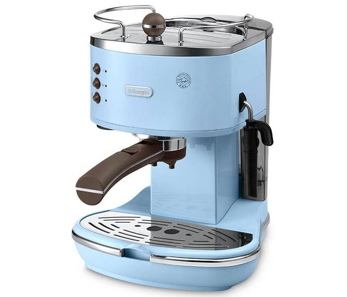 DeLonghi - Machine expresso Delonghi Icona Vintage Bleu EcoV 311.AZ