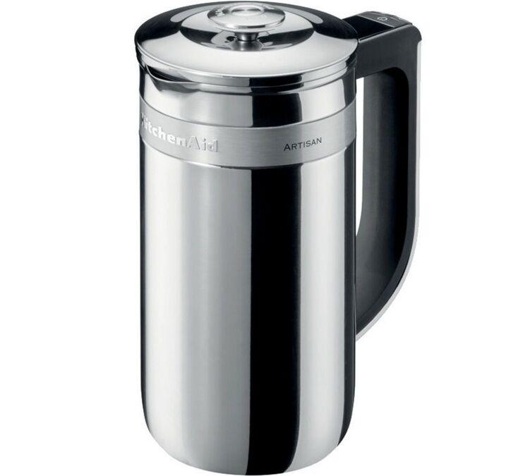 KitchenAid Cafetière à Piston 5KCM0512ESS inox isotherme 6 tasses - 75 cl - Kitchenaid - 75.0000 cl