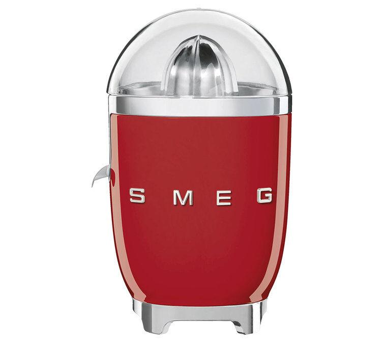 SMEG Presse-Agrumes Smeg CJF01RDEU Années 50 Rouge- SMEG - Sans BPA