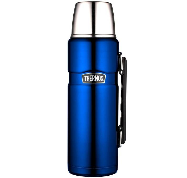 Thermos Bouteille isotherme Inox Thermos King 1,2L bleu électrique - Thermos - 120.0000 cl