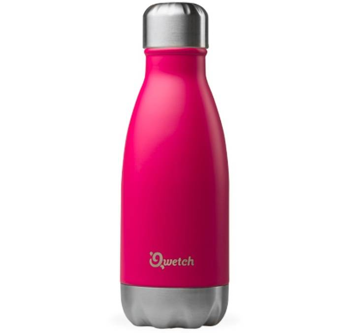 Qwetch Bouteille isotherme inox rose magenta 26 cl - Originals Qwetch - 26.0000 cl