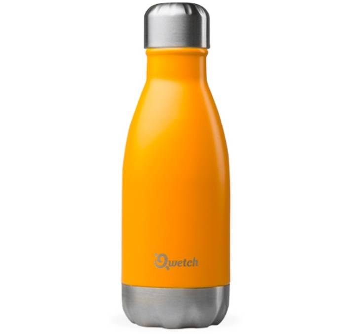 Qwetch Bouteille isotherme inox orange safran 26 cl - Originals Qwetch - 26.0000 cl