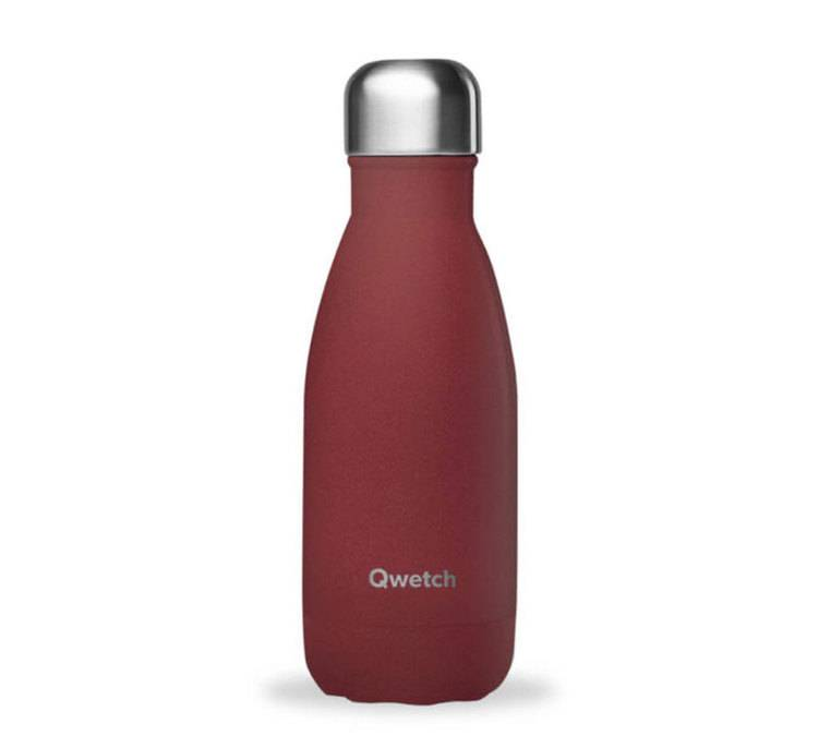 Qwetch Bouteille isotherme Granite Rouge Piment 26 cl - Qwetch - 26.0000 cl