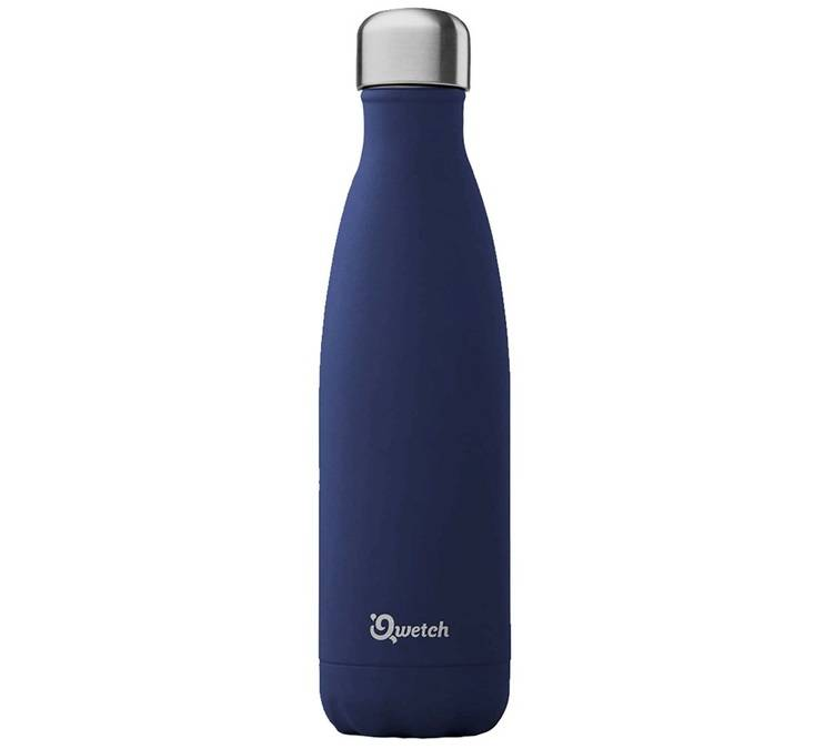Qwetch Bouteille Isotherme Granite Bleu Nuit 50 Cl - Qwetch
