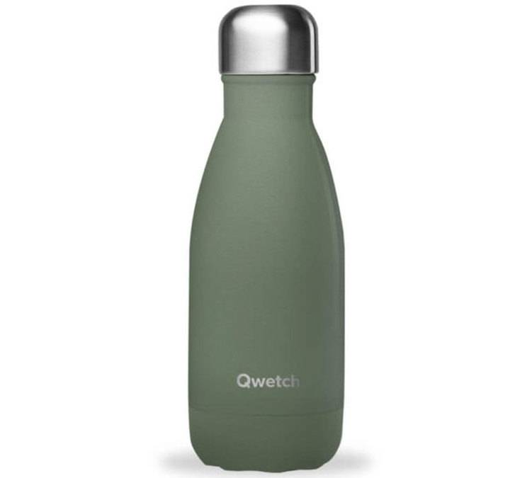 Qwetch Bouteille isotherme Granite Kaki 26 cl - Qwetch - 26.0000 cl