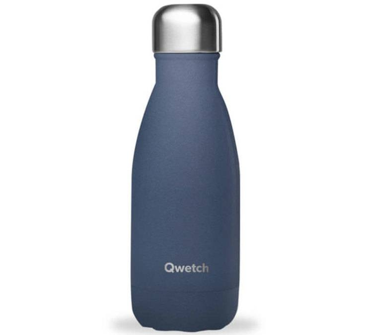 Qwetch Bouteille isotherme Granite Bleu Nuit 26 cl - Qwetch - 26.0000 cl