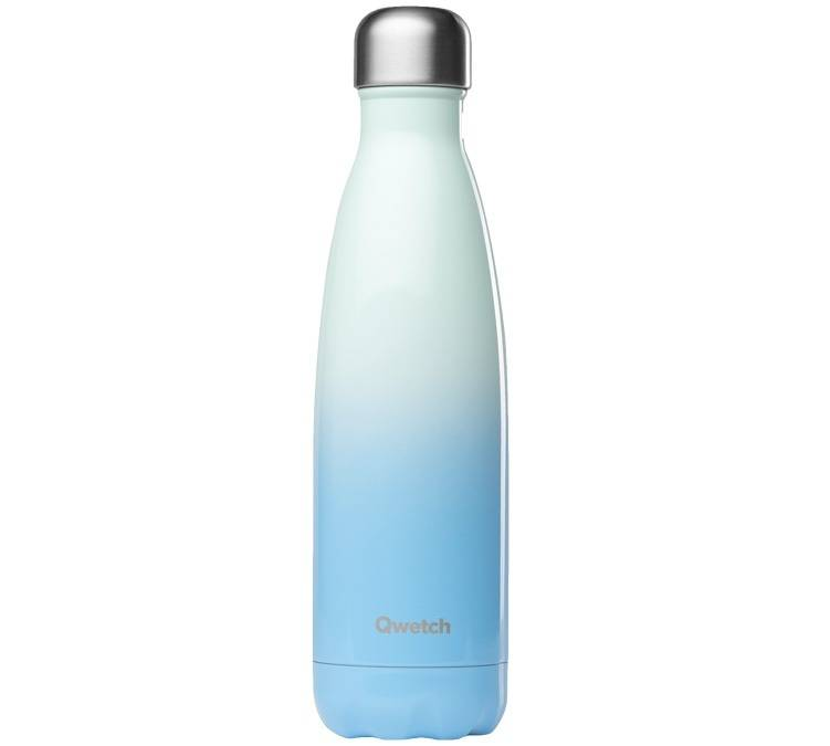 Qwetch Bouteille isotherme inox Blue Sky 50 cl - Qwetch - 50.0000 cl