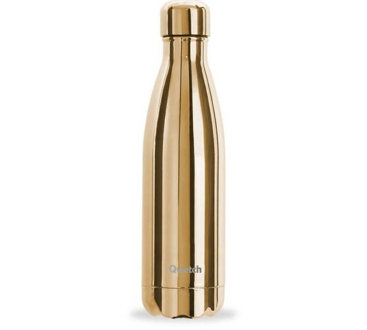 Qwetch Bouteille isotherme Metallic Gold 50 cl - Qwetch - 50.0000 cl