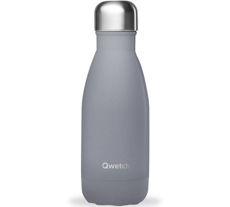 Qwetch Bouteille isotherme Granite Gris 260 ml - QWETCH - 26.0000 cl