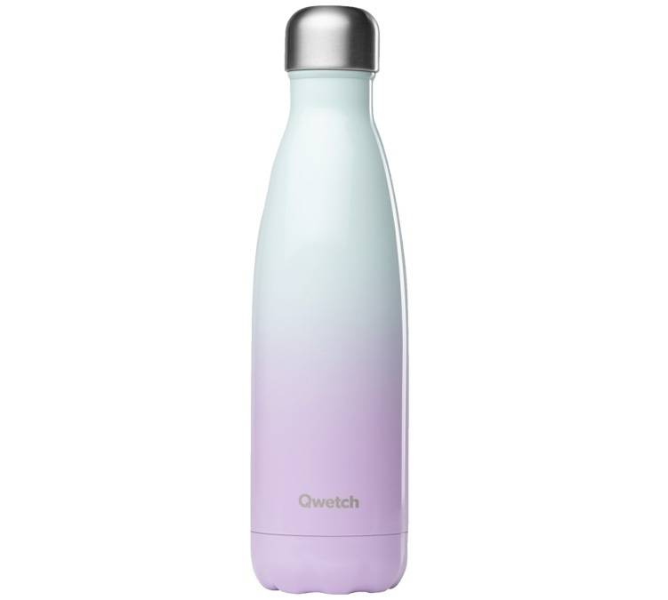 Qwetch Bouteille isotherme inox Pink Sky 50 cl - Qwetch - 50.0000 cl