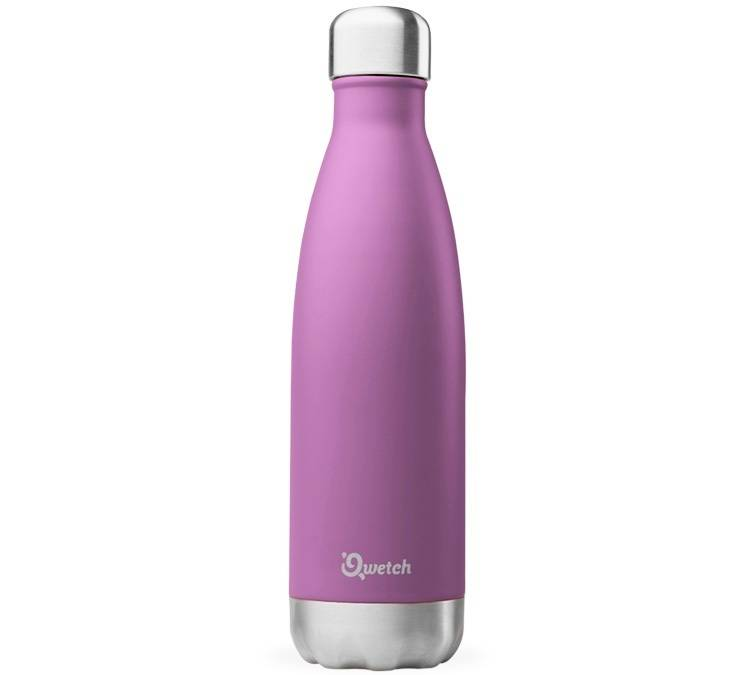 Qwetch Bouteille isotherme inox pourpre 50 cl - Originals Qwetch - 50.0000 cl