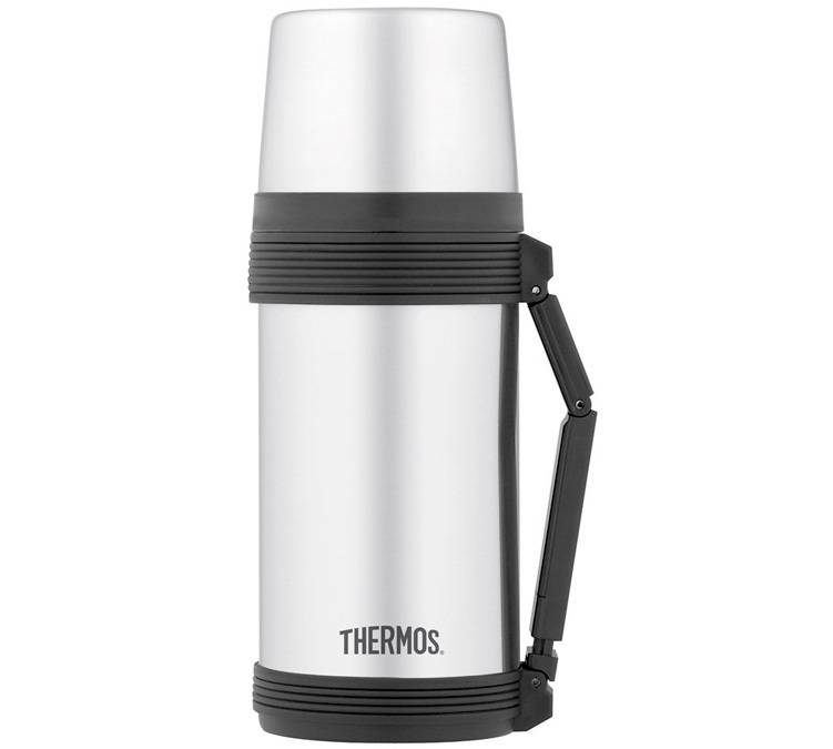Thermos Lunch box isotherme inox 75 cl avec poignée - Thermos - 75.0000 cl