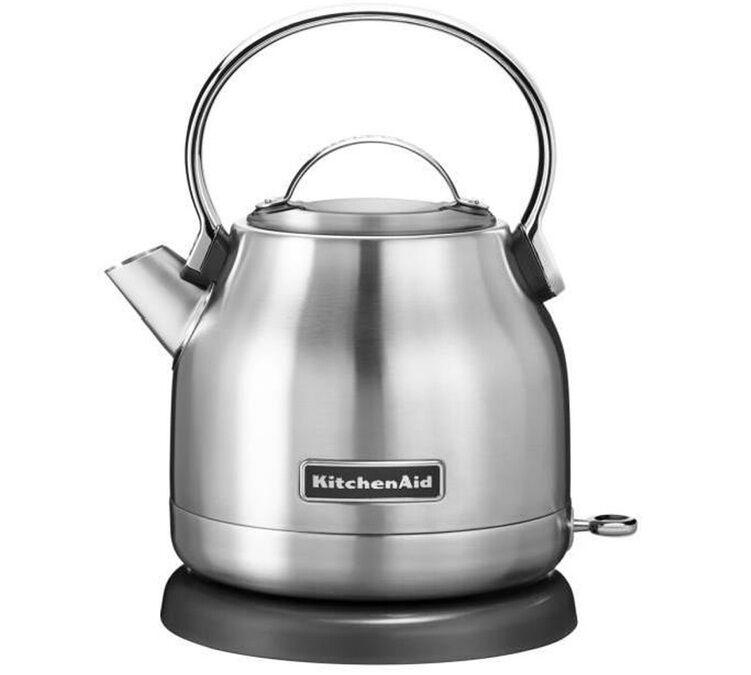 KitchenAid Bouilloire Électrique 1,25 L Acier Inox - Kitchenaid + Offre Cadeau