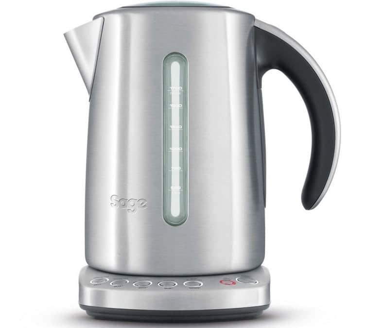 Sage - Bouilloire - the Smart Kettle, Acier Inoxydable + Offre cadeau - Sans BPA
