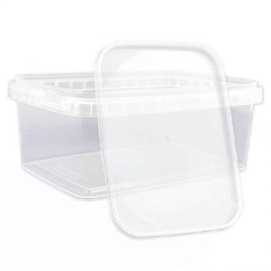 Fdstore Cube 600 pour aliments - Paquet de 420 pcs (bocal + couvercle) Fdstore CUBETTO600