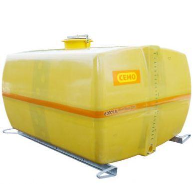 Cemo France Cuve PFV coffre 8 000 l avec cloisons anti-vagues Cemo 11325S