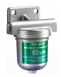 De-Bug Filtre Bio-Contaminant de réservoir à carburant DE BUG LDEBV-1