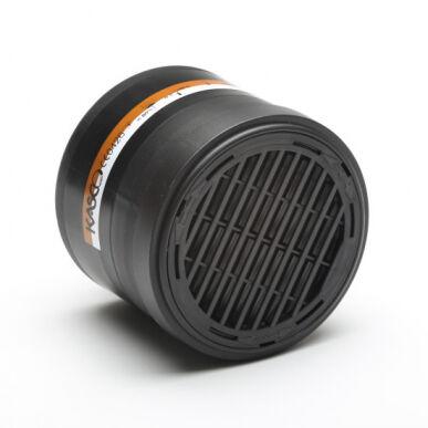 KASCO Srl Filtres ZA2P3 pour masque respiratoire haute capacité - Set composé de 4 filtres Kasco 601019