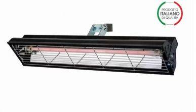 Syner progetti Lampe infrarouge à support réglable S-LBL 1000W Syner progetti S-LBL-1000-N