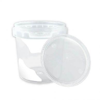 Fdstore Mukketto 150 blanc pour aliments - Paquet de 1200 pcs (bocal + couvercle) Fdstore MUKKETTO150W