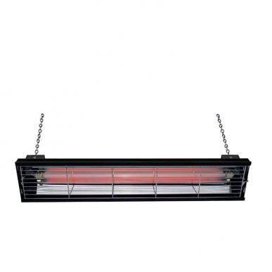 Syner progetti Lampe chauffante infrarouge S-LCA 1000W à suspension Syner progetti S-LCA-1000-N