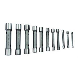 Bahco Jeu de 12 clés en tube doubles dimensions métriques - 27M/12 - Bahco 27M/12 - Publicité