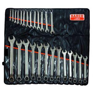 Bahco Jeu de 26 clés mixtes coudées dimensions métriques - 1952M/26T - Bahco 1952M/26T-320 - Publicité