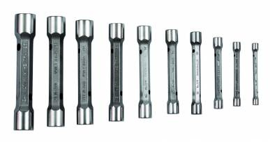 Bahco Jeu de 10 clés en tube doubles dimensions métriques - 27M/10 - Bahco 27M/10